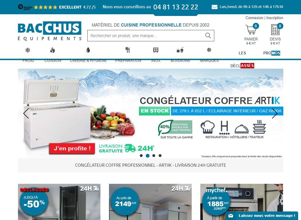 Bacchus-equipements.com