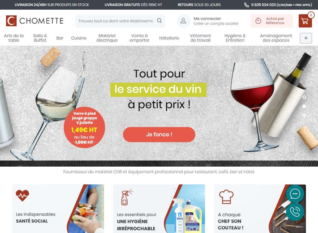 Chomette.com